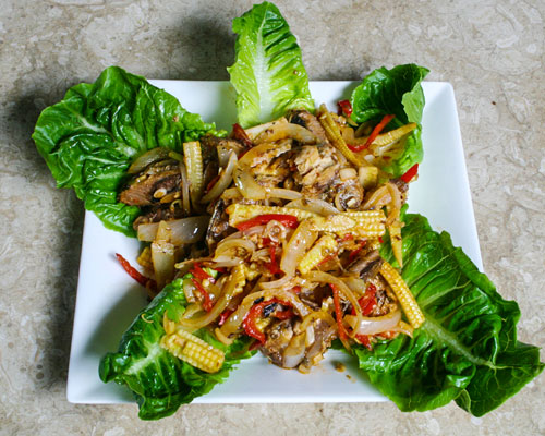 Salad cá thu kiểu Thái