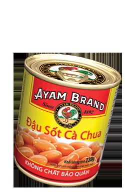 Đậu sốt cà chua Ayam Brand 230g