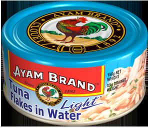 Cá ngừ xé ngâm nước Ayam Brand
