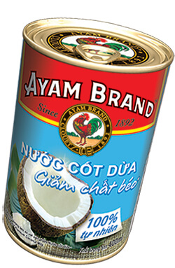Nước cốt dừa ít béo Ayam Brand 400ml