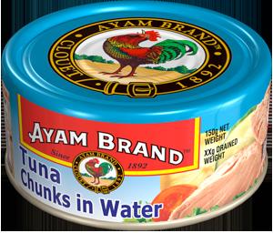 Cá ngừ khúc ngâm nước Ayam Brand