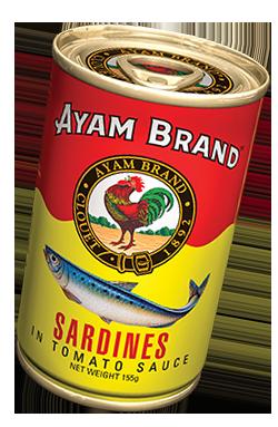Cá trích sốt cà chua Ayam Brand 155g